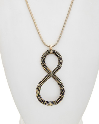 Lafayette 148 New York Crystal Infinity Drop Necklace