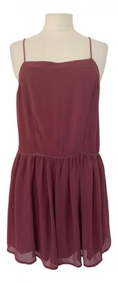 BA&SH Pink Polyester Dresses