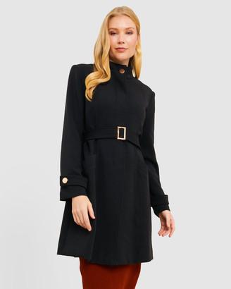 Forcast Kali Collarless Tie Waist Coat