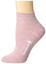 Smartwool Texture Mini Boot Sock (Pink Nectar) Women's Crew Cut Socks Shoes
