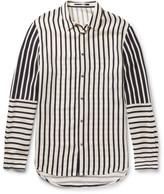 Mcq Alexander Mcqueen - Striped Satin Shirt