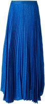 Alice + Olivia Alice+Olivia - pleated maxi skirt - women - Silk/Nylon/Polyester/Spandex/Elastane - 6