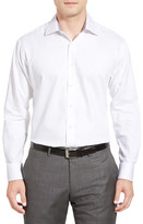 English Laundry Trim Fit Twill Dress Shirt