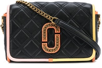 Marc Jacobs The Status Colorblocked flap crossbody bag