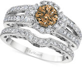 LeVian Le Vian® Bridal Diamond Bridal Set (1-5/8 ct. t.w.) in 14k White Gold