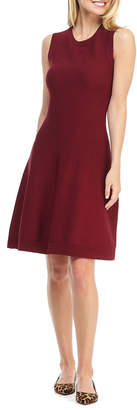 Gal Meets Glam Sleeveless Fit-&-Flare Dress