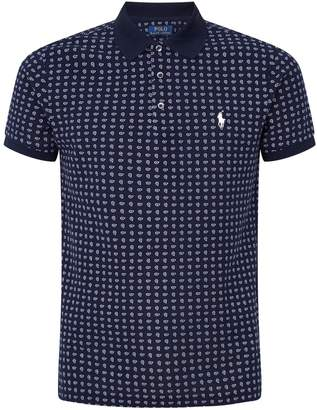 Polo Ralph Lauren Slim-Fit Paisley Print Polo Shirt