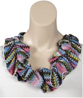 Erge Knit Scarf - Pink-One Size