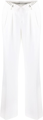 Alexander Wang Open-Front Tailored Trousers