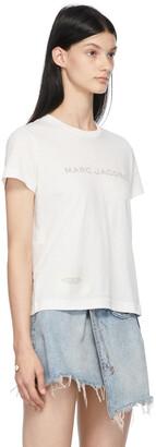 Marc Jacobs White 'The T-Shirt' T-Shirt