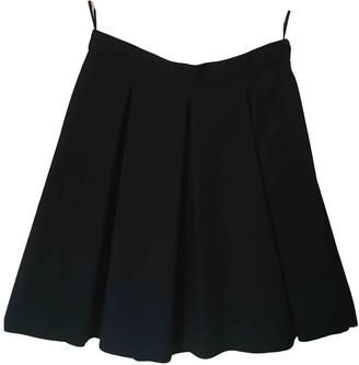 Miu Miu Black Wool Skirt for Women