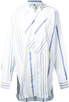 Loewe striped relaxed blouse - women - Cotton/Linen/Flax - 36