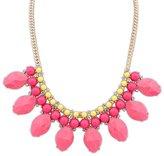 Ebuynecklace Women's Fashion Boho Rhinestone Flower Diamond Statement Pendant Necklace