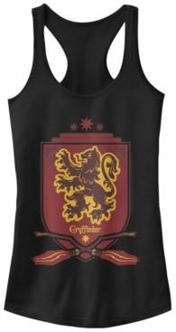 Fifth Sun Harry Potter Gryffindor Broomstick Shield Women's Racerback Tank