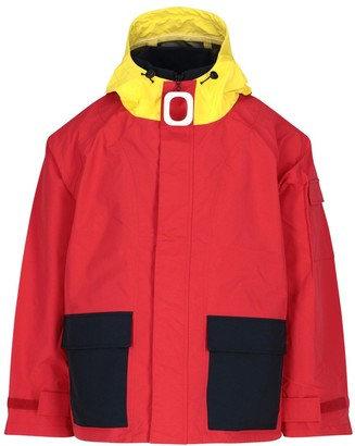 J.W.Anderson Colour Block Hooded Zipped Jacket