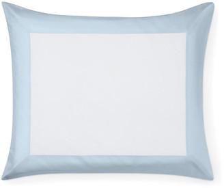 Sferra Casida Boudoir Sham - White/Powder