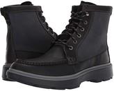 Clarks Dempsey Peak (Black Leather) Men's Lace-up Boots