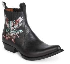 Givenchy Graphic Leather Boots