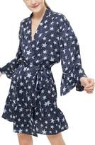 Topshop Star Satin Short Robe