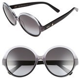 MCM Women's 58Mm Round Sunglasses - Grey/ Black Gradient