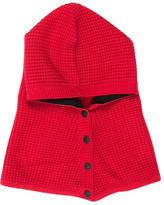 Rag & Bone Cashmere Knit Hooded Scarf