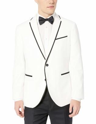 Kenneth Cole Reaction Men's Slim Fit Fancy Evening Blazers