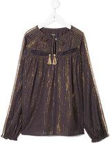Velveteen Francesca blouse