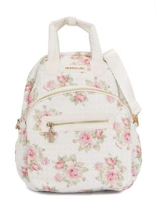 MonnaLisa floral-print diaper backpack