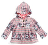 Tucker + Tate Infant Girl's Fair Isle Hooded Jacket