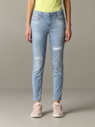 Liu Jo Denim Jeans With Breaks
