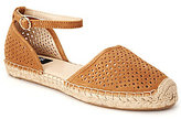 Jones New York Kourtney Perforated Espadrilles