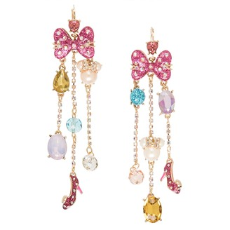 Disney Minnie Mouse Cluster Earrings by Betsey Johnson