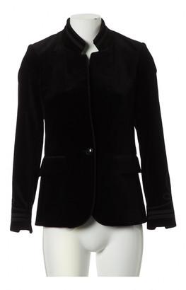 Frame Black Velvet Jackets