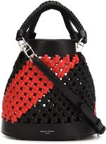 Sonia Rykiel braided bucket shoulder bag - women - Leather - One Size