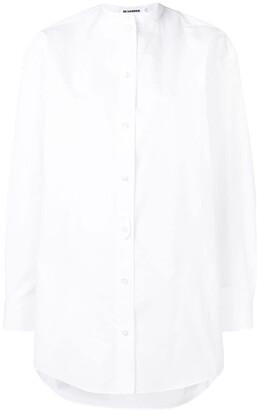 Jil Sander Wednesday band collar shirt