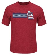 St. Louis Cardinals Men's Charcoal Heather Synthetic T-Shirt