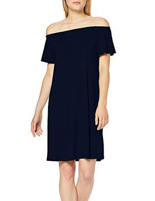 Street One Women's 2466 Dress, (deep Blue 138), UK