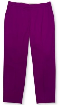 Alfani Polished Slim Ankle Pants, Created for Macy's
