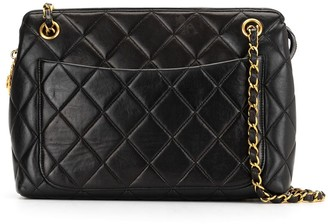Chanel Pre Owned 1990s Diamond-Quilted Shoulder Bag