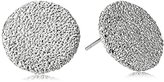 Karen Kane Sandy Beach Silver Tone Stud Earrings