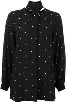 Sportmax polka dot print shirt
