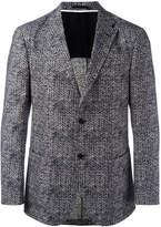 Z Zegna patterned blazer