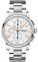 Montblanc 114856 4810 Automatic Chronograph Date Bracelet Strap Watch, Silver/white