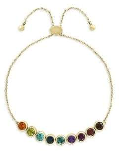 Effy 14K Yellow Gold & Semi-Precious Multi-Stone Bracelet