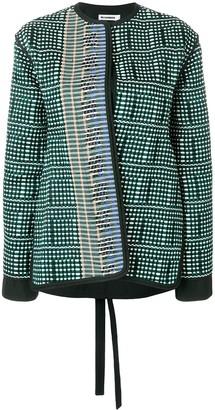 Jil Sander Boucle-Tweed Jacket