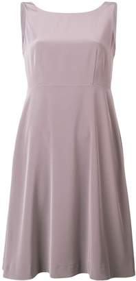 Luisa Cerano flared sleeveless dress