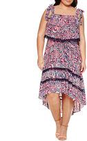 Boutique + + Sleeveless Maxi Dress-Plus