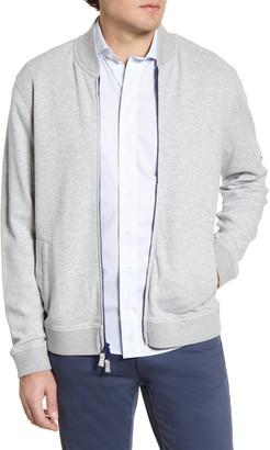 johnnie-O Dierks Knit Baseball Jacket
