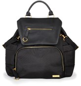 Skip Hop Infant 'Chelsea' Diaper Bag Backpack - Black