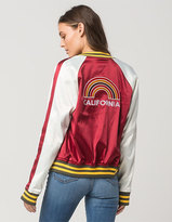 Ashley Retro Cali Womens Bomber Jacket